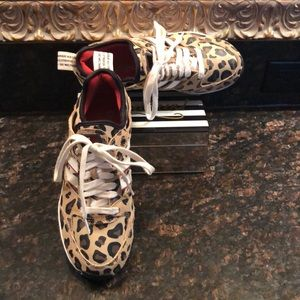 Ladies Adidas Leopard Sneakers
